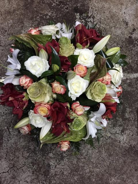 Composition florale deuil Jean-Paul Raconnat