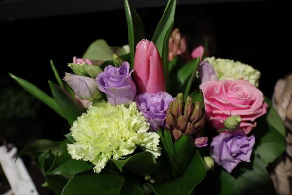 Bouquet de fleurs janvier