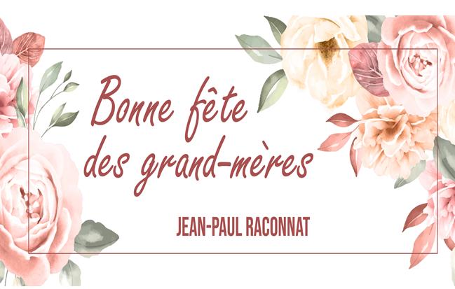 Fleurs pour la fête des grand-mères